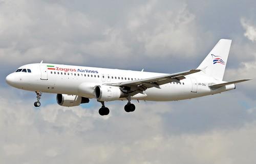 самолет Zagros Airlines